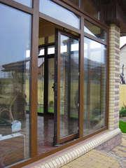 металлопластиковые раздвижные окна,  двери,  балконные рамы.